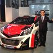 トヨタ自動車 豊田章男社長とヤリス WRC