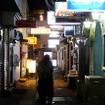 長崎県佐世保市湊町付近の夜