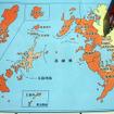 長崎県佐世保市の位置イメージ