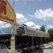 タイの中古車販売店テント