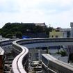 首里駅から見える風景(A地点)