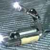 原子炉格納容器内部調査ロボット(原子炉格納容器内部調査時形状)