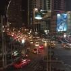タイの市内は夜でも大渋滞
