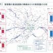 首都圏の高速道路の車線あたりの実用量の分析