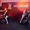 9月9日の夜に都内で開催した「HARLEY-DAVIDSON DARK CUSTOM PARTY」(ハーレーダビッドソン ダークカスタムパーティ)。