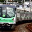 東京メトロが所有する千代田線用の16000系。小田急線とJR常磐線の乗り入れに対応している。