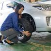 重さもずっしり、特に女性には負担の大きな作業