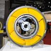 エアレスタイヤテクノロジー「ジャイロブレイド」と、シーラントタイヤテクノロジー「コアシール」の2つの技術を採用したプロトタイプタイヤ