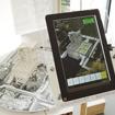 ARを用いた知育ソフト。歴史的建造物などの模型にカメラ付き情報端末をかざすと、付加情報が表示される