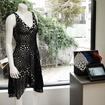 身体をスキャンしたデータからデザインを作成し、3Dプリンタで出力したワンピース
