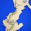 沖縄県営鉄道(ケイビン)、与那原線、糸満線、嘉手納線の路線イメージ