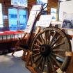 山原船や与那原馬車の展示物もある軽便与那原駅舎展示資料館