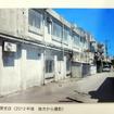 農協(JAおきなわ与那原支店)の建物として使われていた時代の与那原駅舎跡