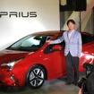 新型プリウス開発責任者、製品企画本部の豊島浩二チーフエンジニア