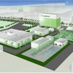 2020年に向けた国産バイオジェット・ディーゼル燃料の実用化計画」での実証プラントの完成イメージ