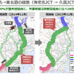 東名→東北道の経路(海老名JCT→久喜JCT)