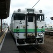 道南いさりび鉄道はJR北海道からキハ40形気動車を譲り受けて旅客列車を運行する。