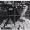 ISSに接近するプログレス補給船(62P)のモニタ画面
