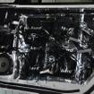 SUBARU WRX STIにはcarrozzeriaハイグレードバッフルを使って装着されている。