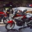 ホンダNC750Xと400X(東京モーターショー15)