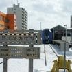 JR最北端の稚内駅とJR最南端の西大山駅を鉄道だけで移動する場合の最短所要時間は、北海道新幹線の開業に伴い逆に伸びる見込み。写真は12年前(2004年)、記者が稚内~西大山間の列島縦断旅行を実践した時の稚内駅。そのときの最短所要時間は27時7分だった。