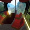 4月から運行を開始する『えちごトキめきリゾート雪月花』。編成両端の運転台後方にハイデッキの前面展望スペースを設ける。
