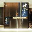 伊勢丹メンズ館内に展示される吉川壽一の作品