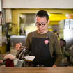 自家焙煎珈琲が味わえる、京都丸太町にある「かもがわカフェ」