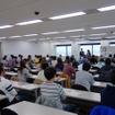 大阪会場の検定の模様。