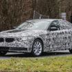 BMW 5シリーズ スクープ写真