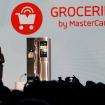 MasterCardのアプリから食材の購入、カード決済が可能