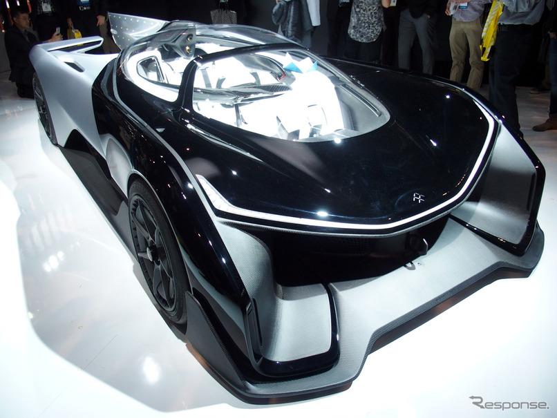 シングルシーターのコンセプト EV 「 FF ZERO 1」