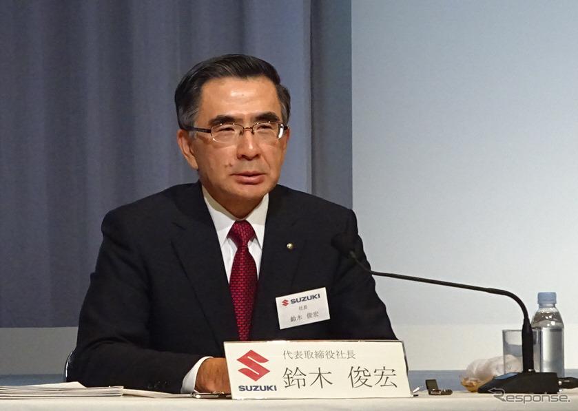 スズキ鈴木俊宏社長