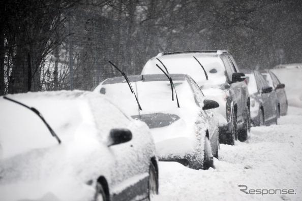 積雪時の街の様子(イメージ)