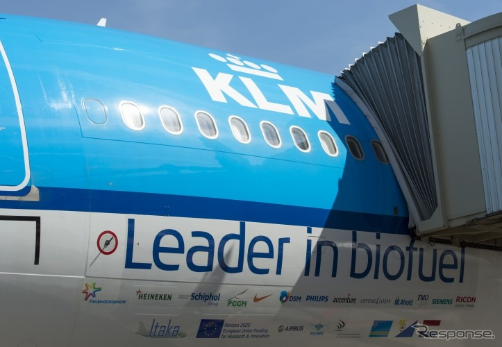 KLMオランダ航空、オスロからバイオ燃料フライト実施へ