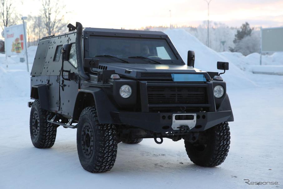 メルセデスベンツ LAPV(Light Armored Patrol Vehicle)スクープ写真