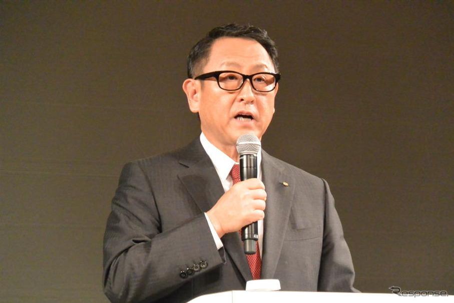トヨタ自動車 豊田章男 社長(資料画像)