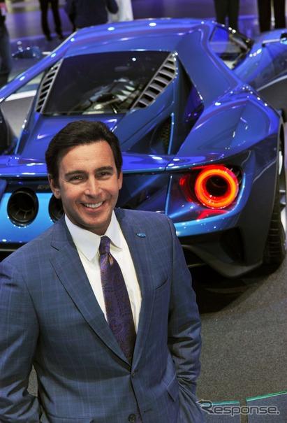 フォードモーターのマーク・フィールズ社長兼CEO