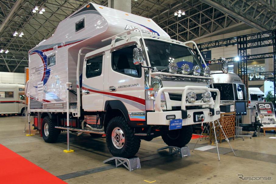 AIRSTREAM JAPNの田中社長いわく「一度は作りたかったキャンピングカー」