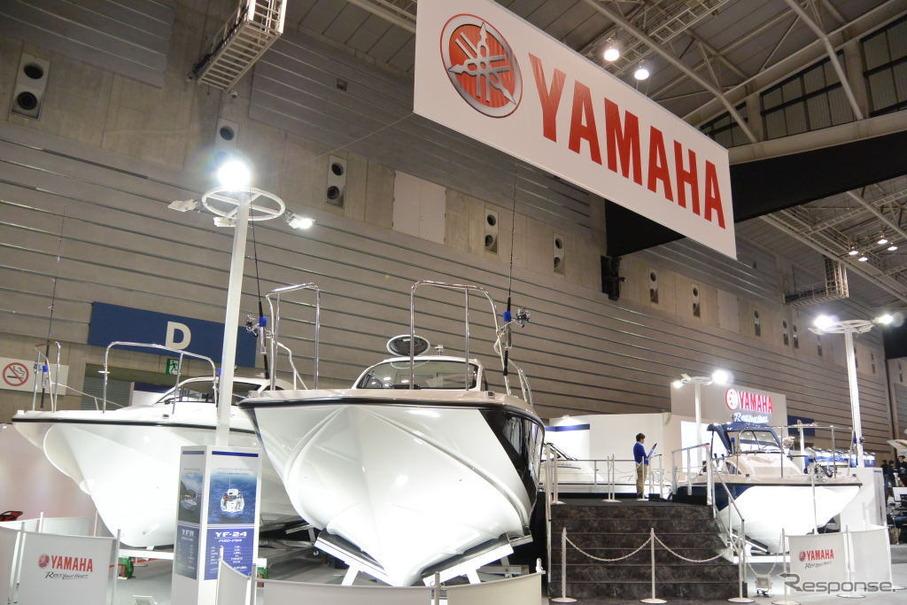 ヤマハ発動機ブース(ジャパンボートショー15)
