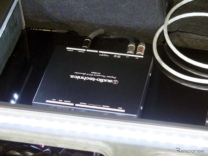 オーディオテクニカが昨年8月に発売したデジタルトランスポート「AT-HRD5」