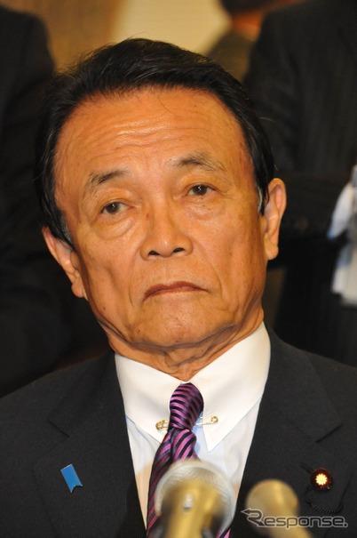 麻生太郎財務相(16日・国会)