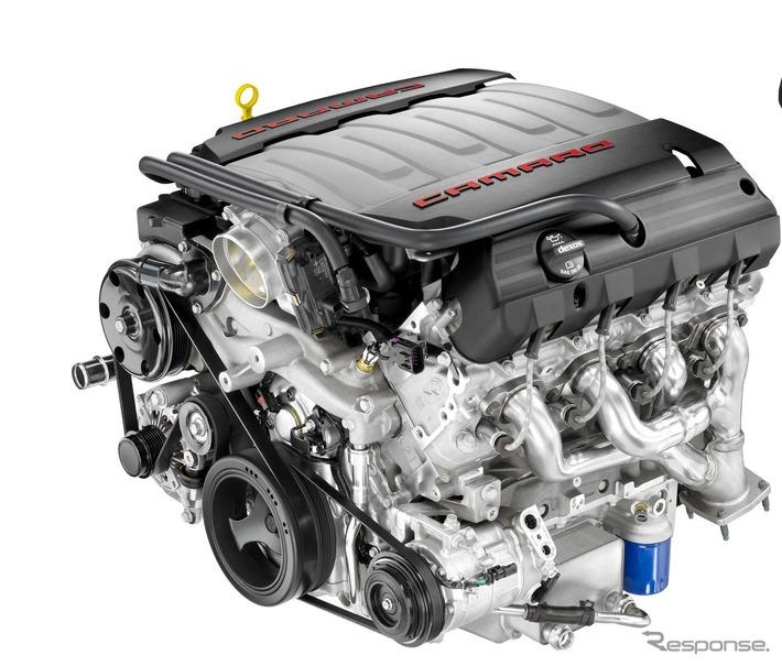 GMの6.2リットルV型8気筒ガソリンエンジン