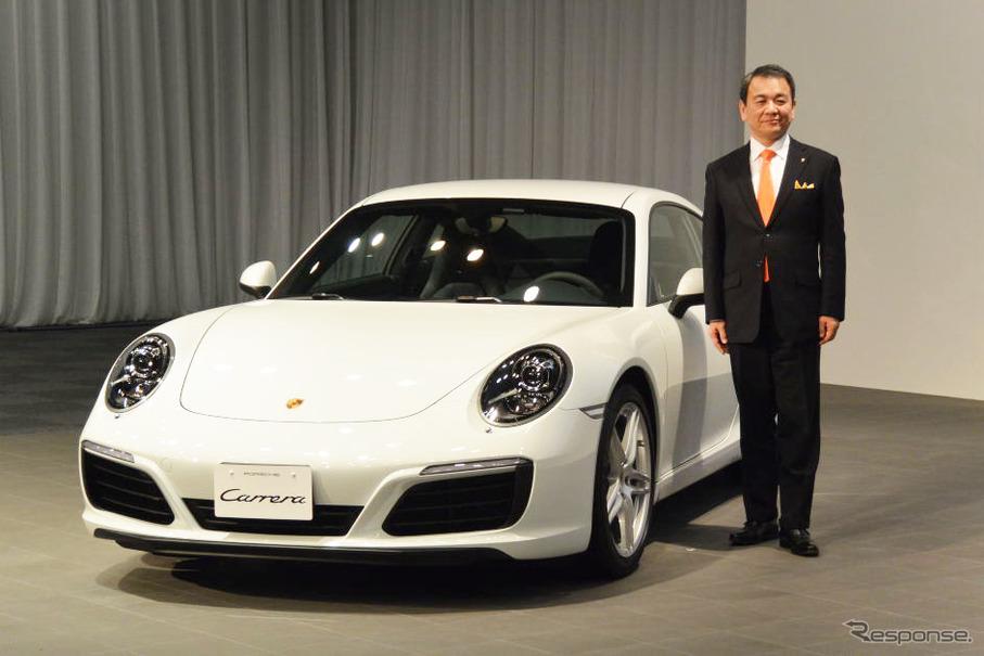 ポルシェ 911カレラ 改良新型とポルシェ・ジャパン 七五三木敏幸 社長
