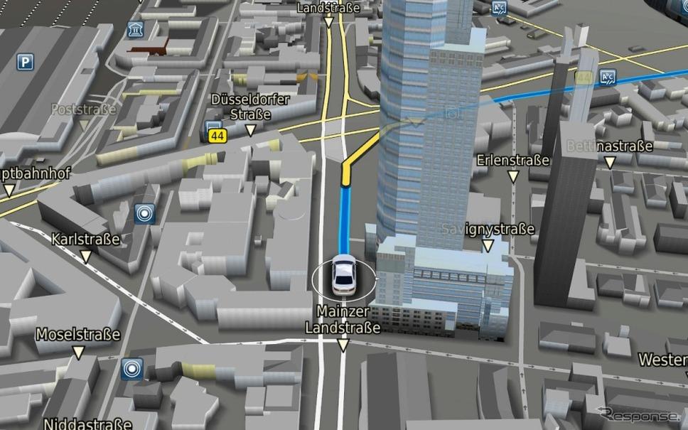 3Dマップの表示例