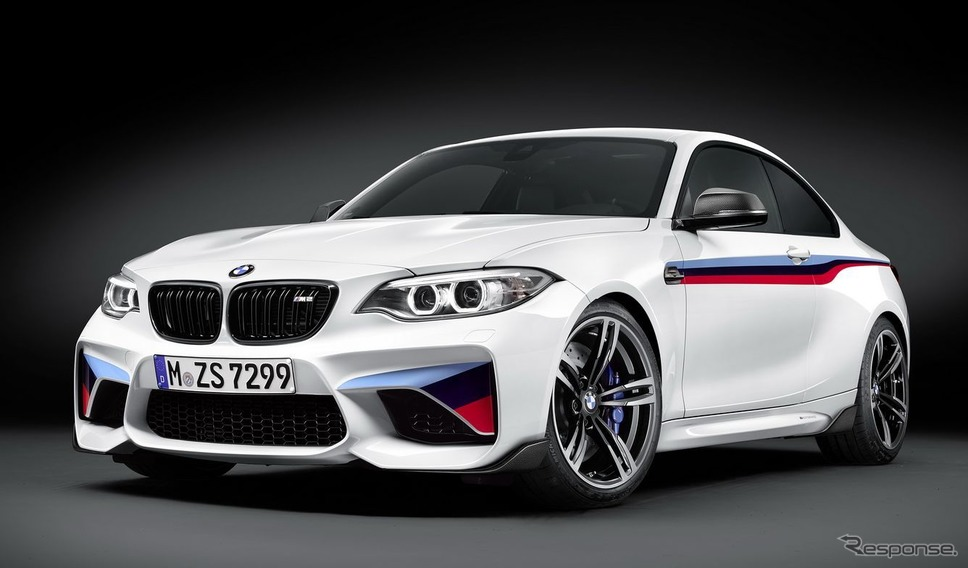 BMW M2クーペのMパフォーマンスパーツ