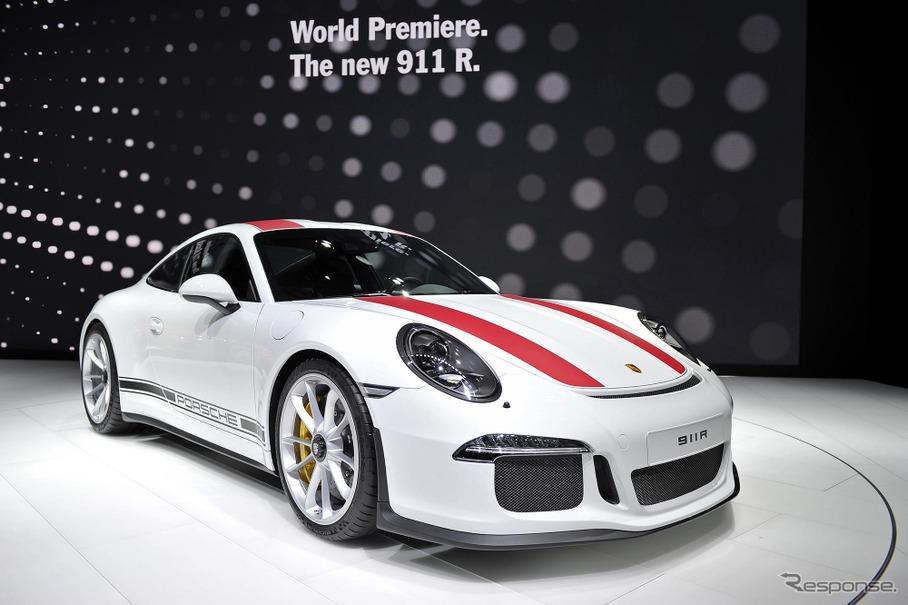 ポルシェ 911R(ジュネーブモーターショー16)