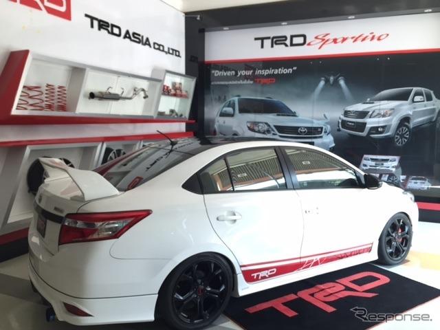 タイのTRDショールーム