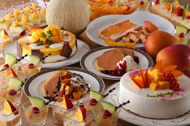 横浜ベイシェラトン ホテル&タワーズで、ナイトスイーツブッフェ「Sweets Parade」~マンゴー&メロンフェア~開催