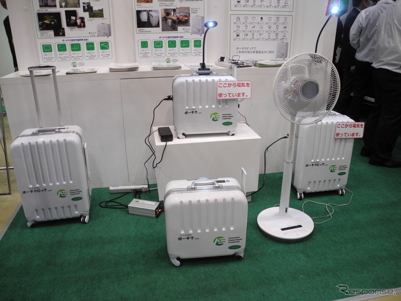 オートモティブエナジーサプライが販売しているポータブル蓄電池